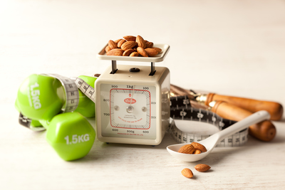 Almonds and weight management